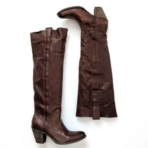 Frye Taylor Over-the-Knee Leather Boots 8.5B EUC